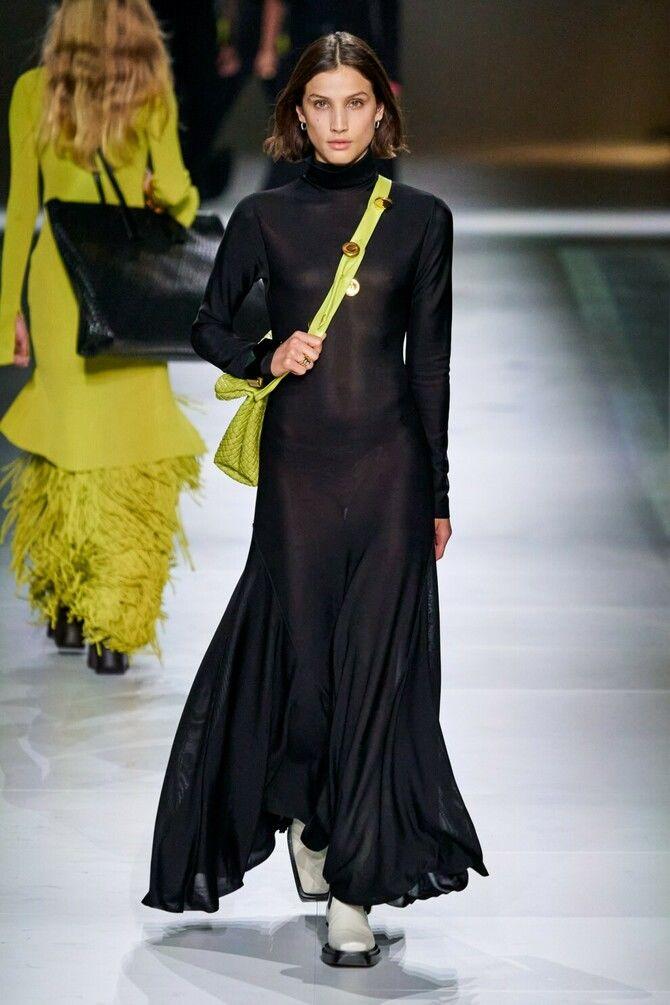 Модні сукні з довгим рукавом 2020-2021 25
