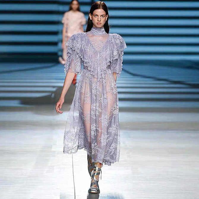 Модні сукні з довгим рукавом 2020-2021 3