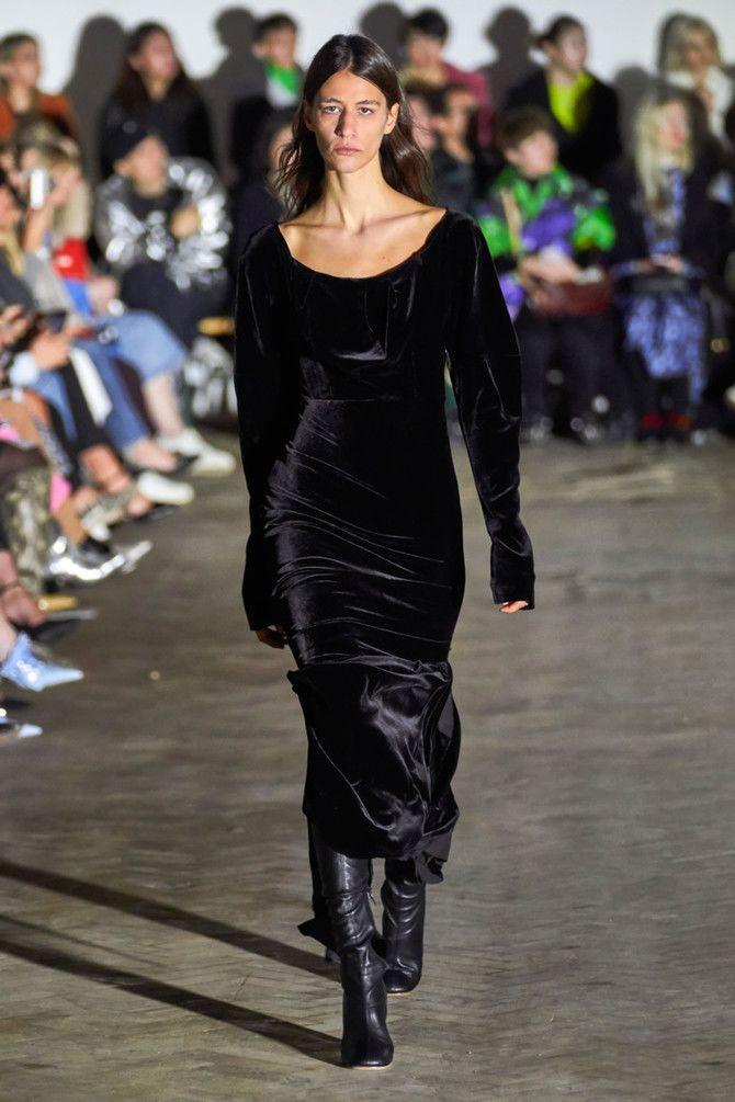 Модні сукні з довгим рукавом 2020-2021 33