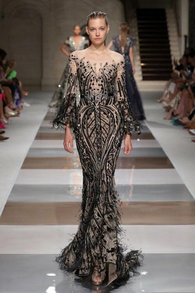Модні сукні з довгим рукавом 2020-2021 34