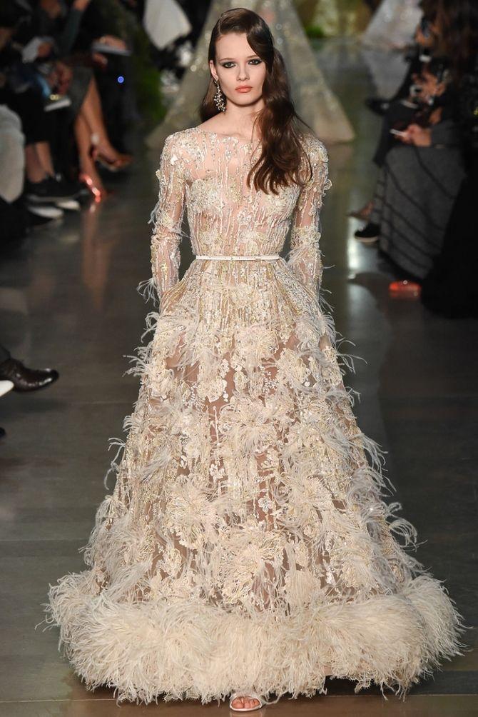 Модні сукні з довгим рукавом 2020-2021 35