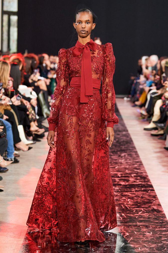 Модні сукні з довгим рукавом 2020-2021 36