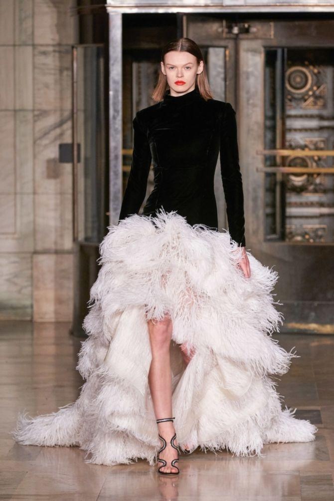 Модні сукні з довгим рукавом 2020-2021 37