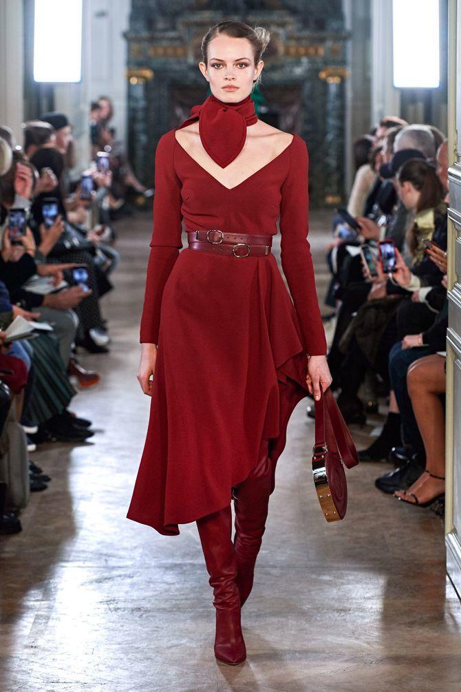 Модні сукні з довгим рукавом 2020-2021 38