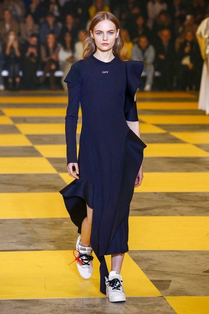 Модні сукні з довгим рукавом 2020-2021 39