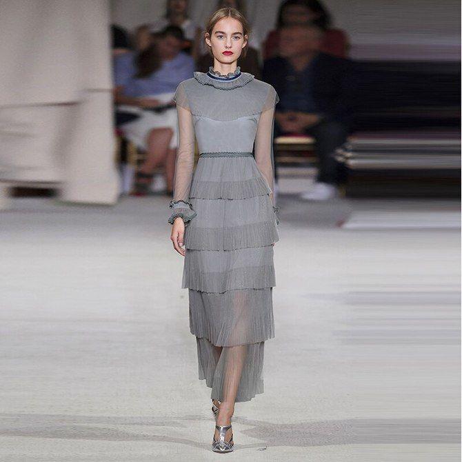 Модні сукні з довгим рукавом 2020-2021 4