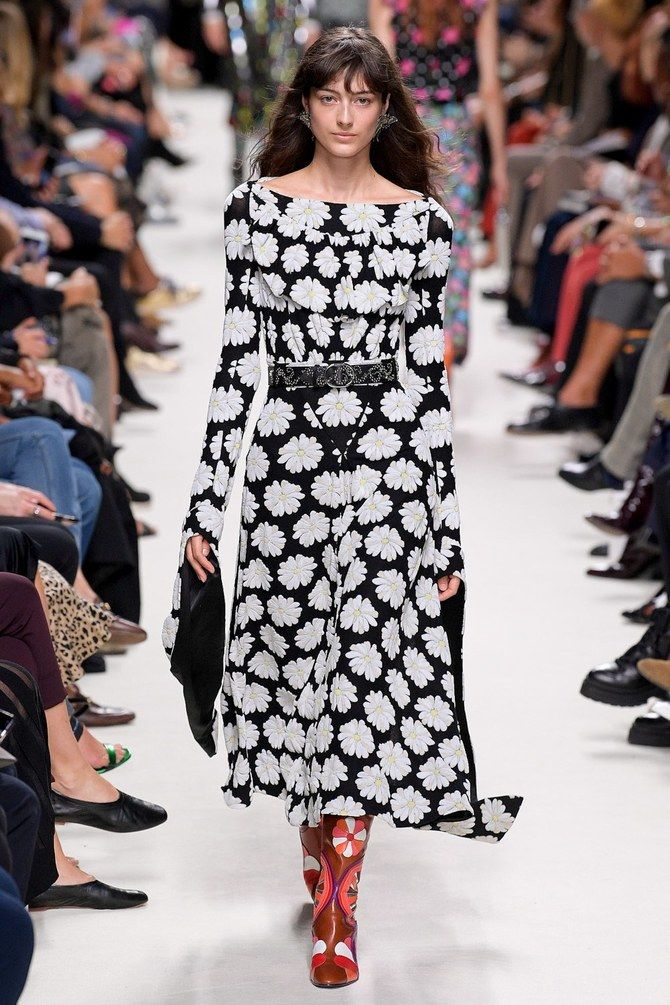 Модні сукні з довгим рукавом 2020-2021 5