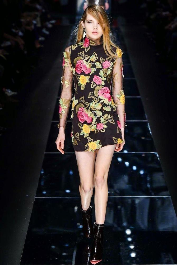 Модні сукні з довгим рукавом 2020-2021 6