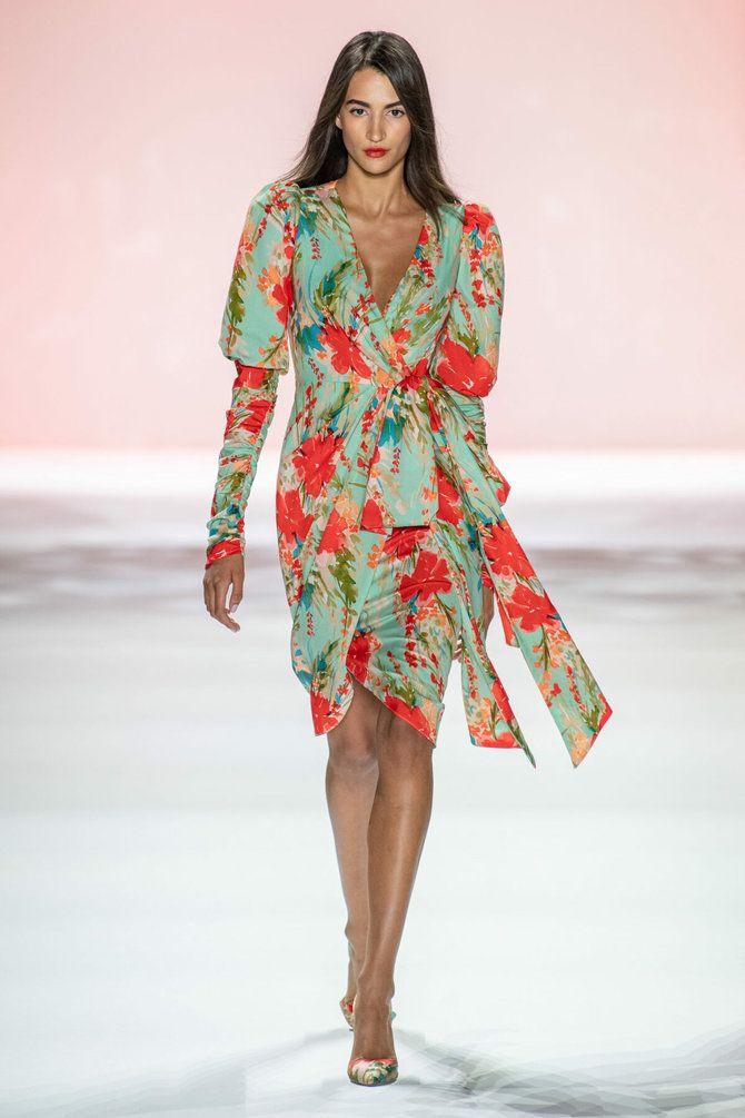 Модні сукні з довгим рукавом 2020-2021 7