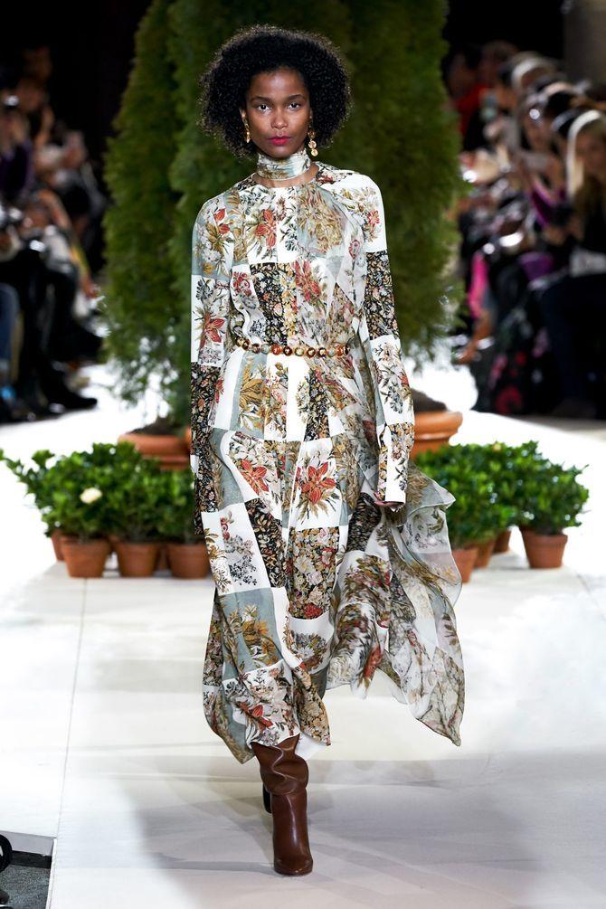 Модні сукні з довгим рукавом 2020-2021 9