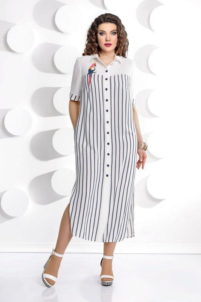 Сорочка в смужку: актуальні модні образи 10