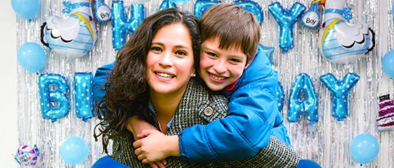 Привітання синові від мами з Днем народження в прозі, віршах, листівках