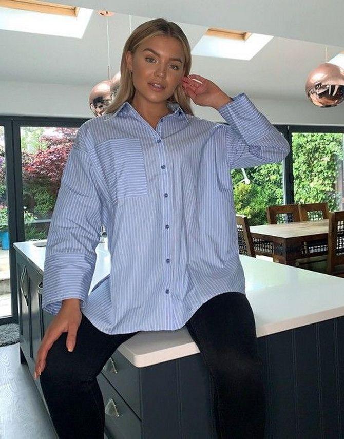 Сорочка в смужку: актуальні модні образи 2