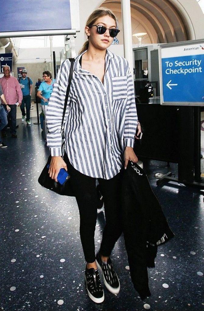 Сорочка в смужку: актуальні модні образи 1
