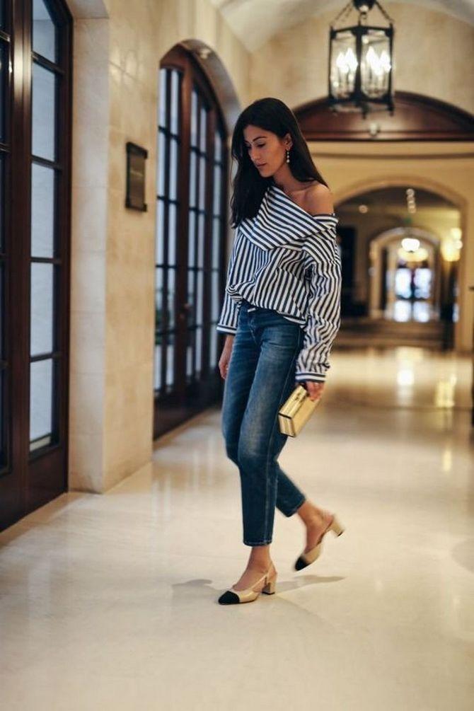 Сорочка в смужку: актуальні модні образи 4