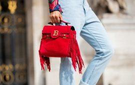 Сумки с бахромой — модный тренд осень-зима 2020-2021