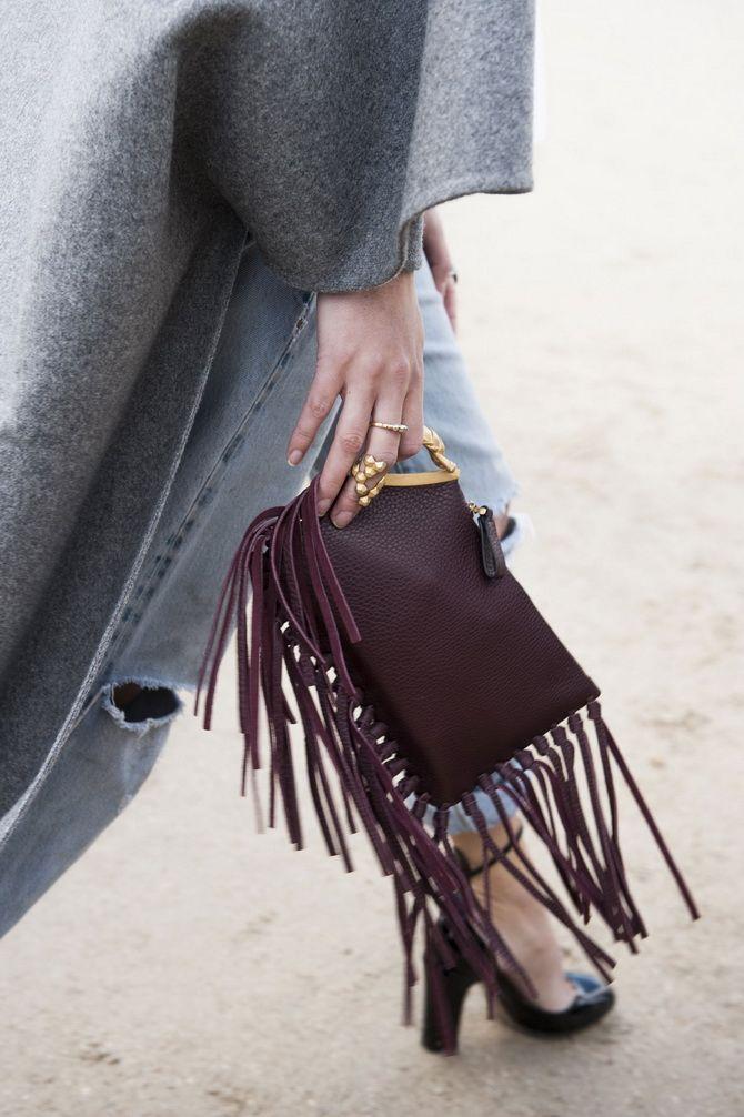Сумки з бахромою – модний тренд осінь-зима 2020 2021 44