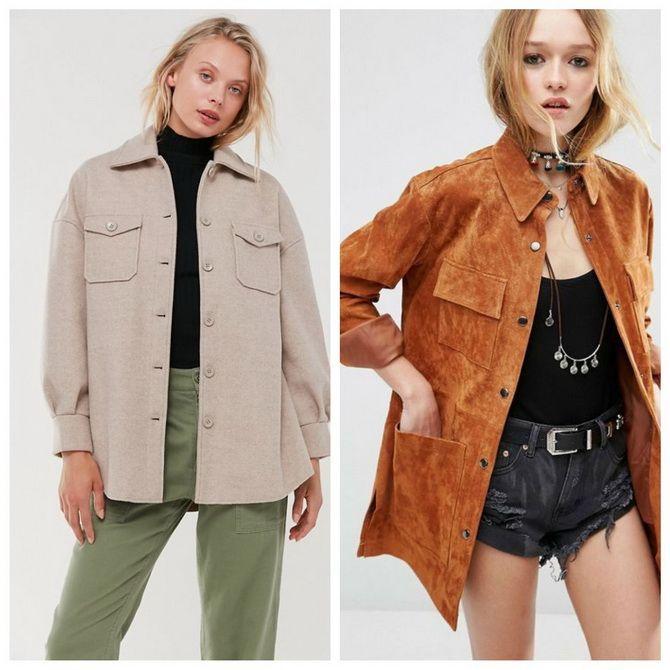 Теплі модні сорочки на осінь-зиму 2020-2021 6