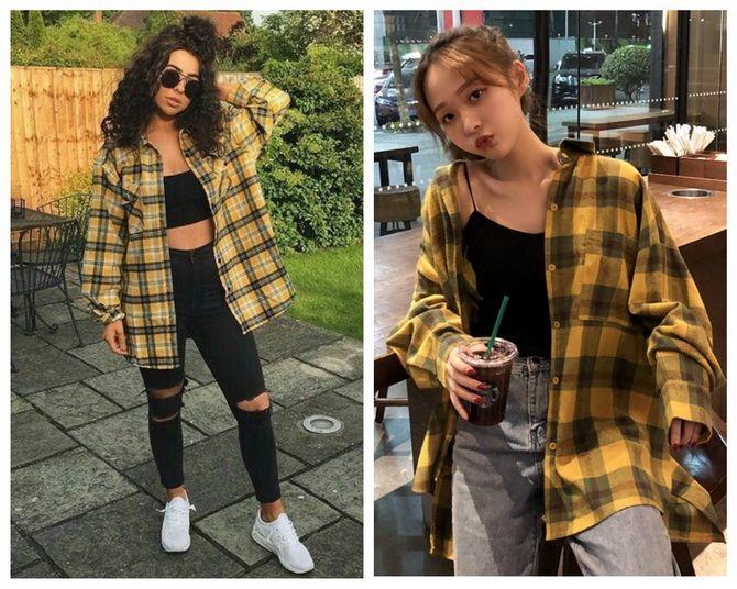 Теплі модні сорочки на осінь-зиму 2020-2021 9