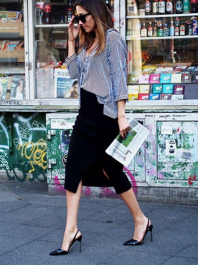 Сорочка в смужку: актуальні модні образи 16