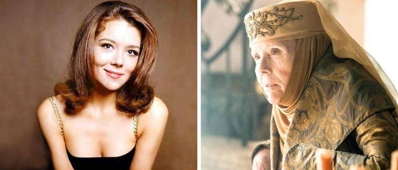 """Померла зірка """"Ігри престолів"""" і дівчина Бонда – актриса Діана Рігг"""