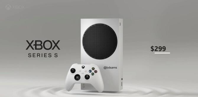 Розкрито характеристики і зображення консолей Xbox Series S 1