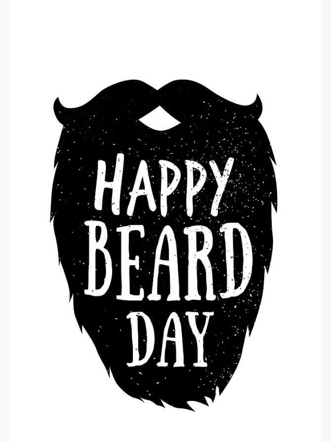 Привітання з Днем бороди