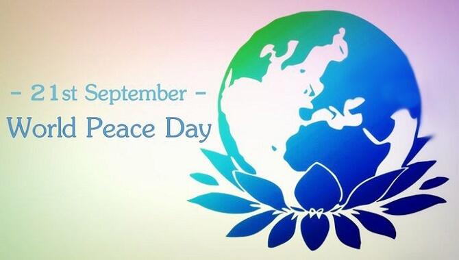 Привітання з Міжнародним Днем миру