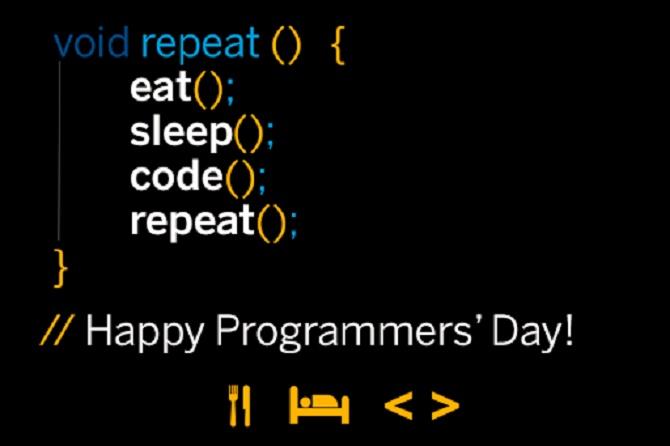 Привітання з Днем програміста 2020