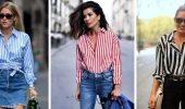 Сорочка в смужку: актуальні модні образи