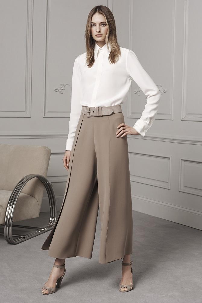 Юбка-брюки — как носить в сезоне осень-зима 2020-2021 6