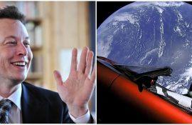 Tesla Roadster, запущенная Илоном Маском, пролетела на минимальном расстоянии от Марса