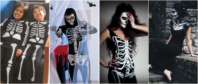 Брязкаємо кістками: костюм скелета на Геловін своїми руками