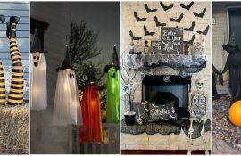 Украшение дома на Хэллоуин 2020: крутые варианты и фото идеи