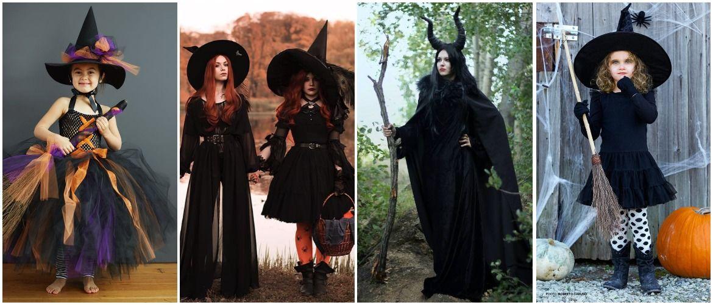 Колдовская красота: костюм ведьмы на Хэллоуин своими руками