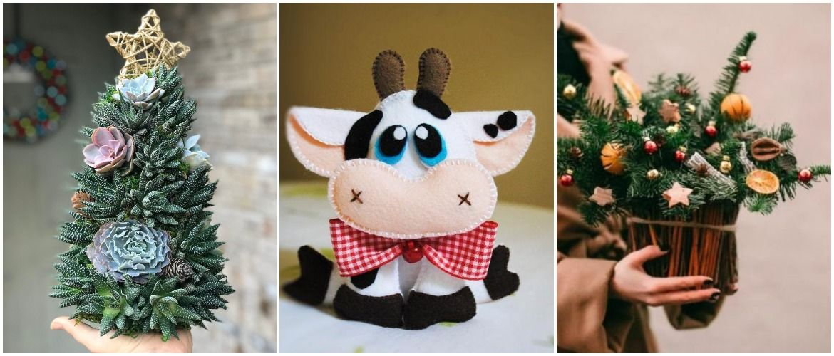 DIY gifts for the New Year 2021: creative ideas and bright photos