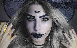 Макияж ведьмы на Хэллоуин: топ-40+ крутых идей для девушек и детей, фото