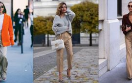 Бежеві штани для жінок – з чим поєднувати