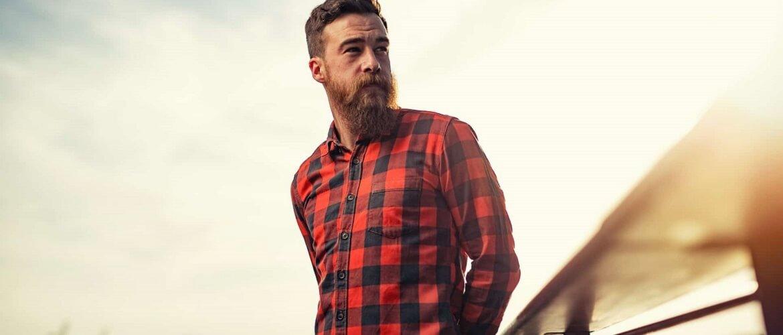 Фланелеві сорочки для чоловіків – яскраві образи 2020-2021