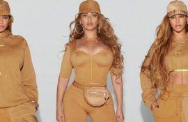 Бейонсе показала своє шикарне тіло, демонструючи медові і зелені речі з колекції Adidas x Ivy Park