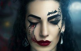 Напугать, удивить, очаровать: грим на Хэллоуин-2020