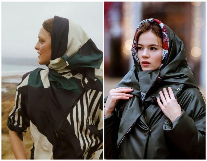 Жіночі головні убори 2021: хустки, капелюхи, берети, панами та кепі 24