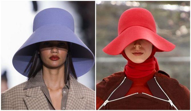 Жіночі головні убори 2021: хустки, капелюхи, берети, панами та кепі 26