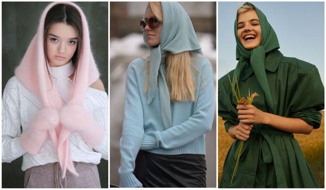 Жіночі головні убори 2021: хустки, капелюхи, берети, панами та кепі 34