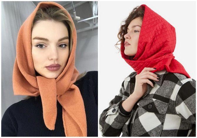 Жіночі головні убори 2021: хустки, капелюхи, берети, панами та кепі 35