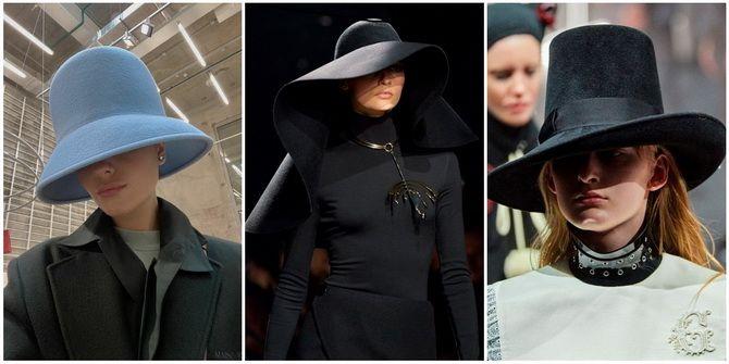 Жіночі головні убори 2021: хустки, капелюхи, берети, панами та кепі 6