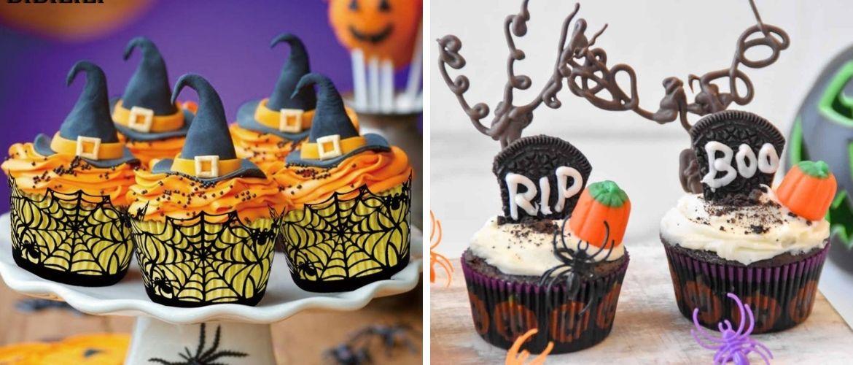 Капкейки на Хэллоуин: варианты декора для ужасно популярного лакомства