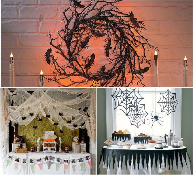 Комната страха: украшаем домашний интерьер на Хэллоуин 2020 2