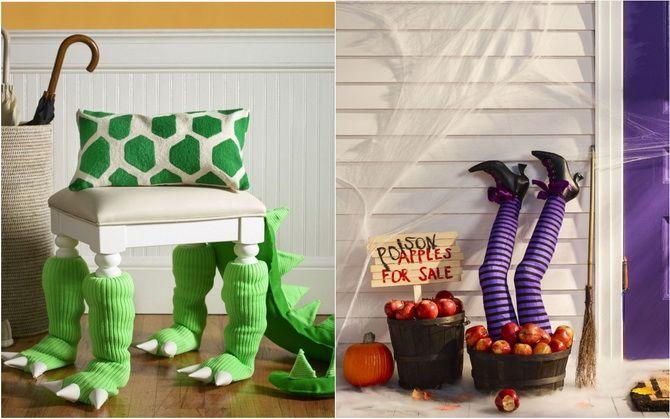Комната страха: украшаем домашний интерьер на Хэллоуин 2020 11