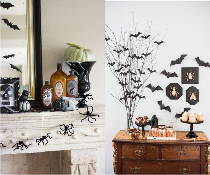 Комната страха: украшаем домашний интерьер на Хэллоуин 2020 12